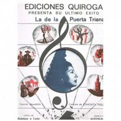 Quintero y L La de la Puerta Triana (Canción-Pasodoble)