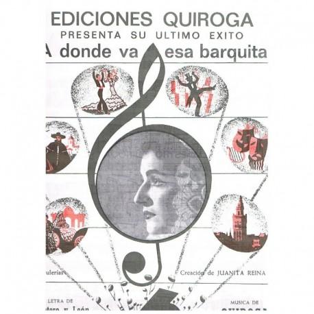 Quintero y L A donde va esa Barquita (Bulerías)