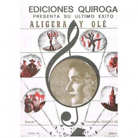 Quintero y L Aligera y Olé (Bulerías)