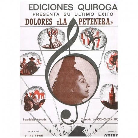 León/Quiroga Dolores la Petenera (Pasodoble-Canción)