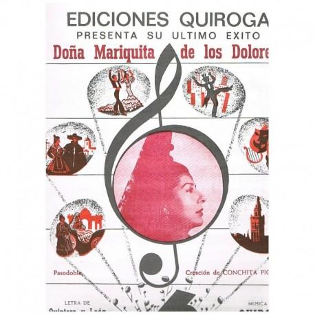 Quintero y L Doña Mariquita de los Dolores (Pasodoble)