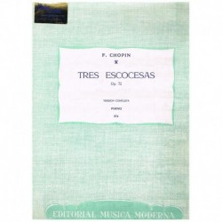 Chopin 3 Escocesas