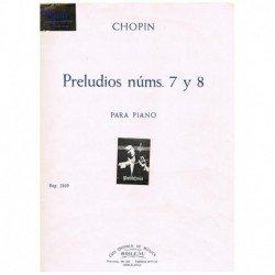 Chopin Preludios Nº 7 y 8