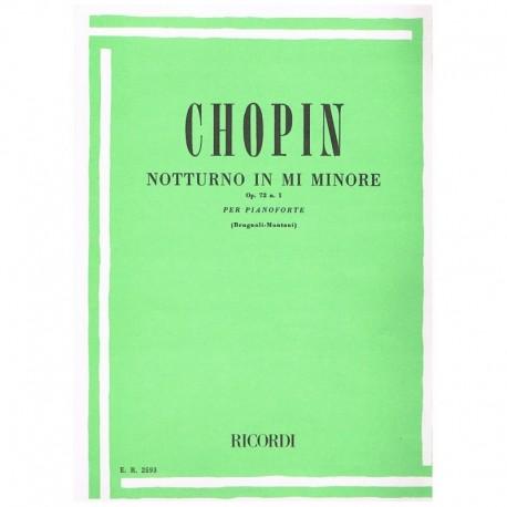 Chopin Nocturno Mi menor Op.72 Nº1