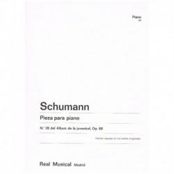 Schumann Pieza Nº26 Op.68...