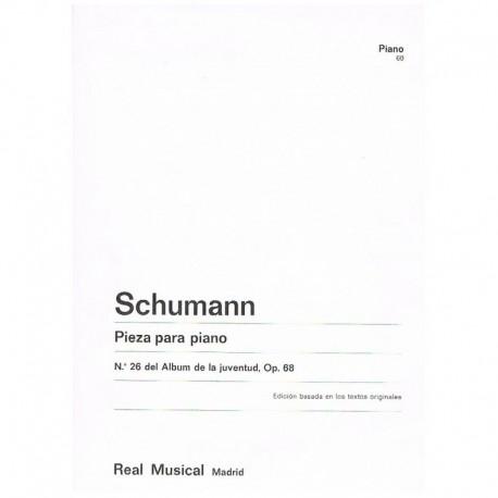 Schumann Pieza Nº26 Op.68 (del Album de la Juventud)