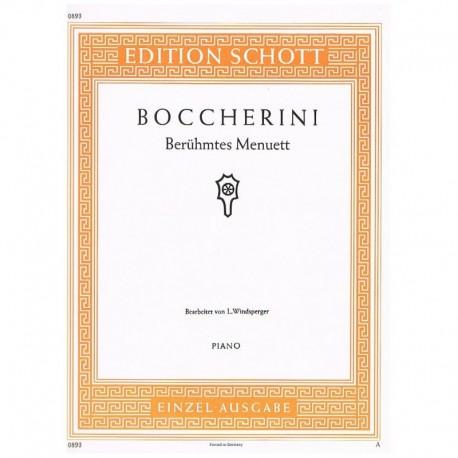 Boccherini. Célebre Minueto Op.13 Nº5 La Mayor