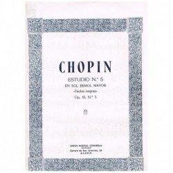 Chopin Estudio Nº5 Solb...