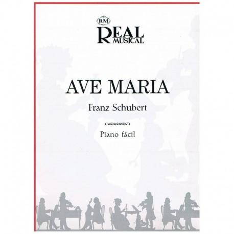 Schubert, Fr Aver María (Piano Fácil)