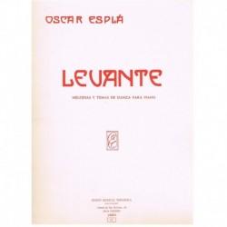 Esplá, Oscar Levante....