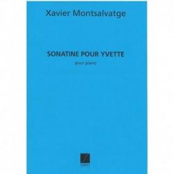 Montsalvatge Sonatina para Yvette