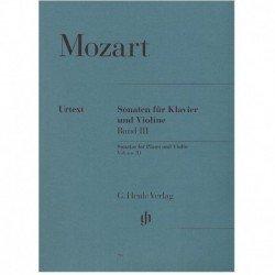 Mozart. Sonatas para Violin...