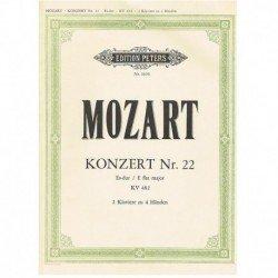 Mozart. Concierto Nº22 Mib...