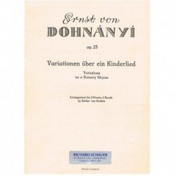 Dohnanyi, Er Variations on...