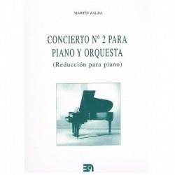 Zalba, Martí Concierto Nº2 para Piano y Orquesta (2 Pianos)