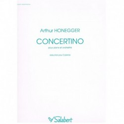 Honegger, Ar Concertino...