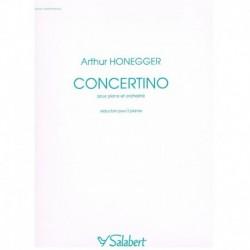 Honegger, Ar Concertino para Piano y Orquesta (2 Pianos)