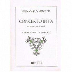 Menotti, Gia Concerto in Fa...