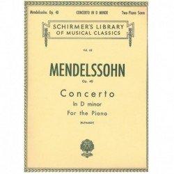 Mendelssohn, Concierto Rem...