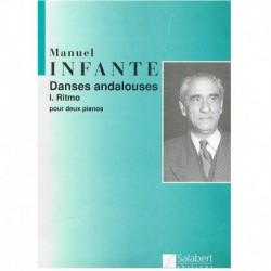 Infante, Man Danses Andalouses I.Ritmo (2 Pianos)
