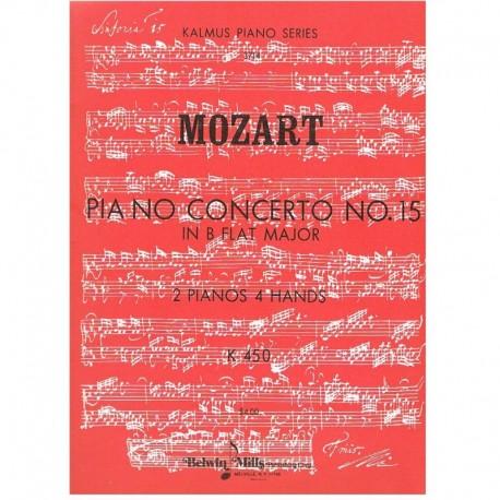 Mozart. Concierto Nº15 Sib Mayor K450 (2 Pianos/4 Manos)