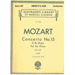 Mozart. Concierto Nº15 Sib...