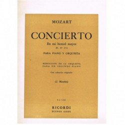 Mozart. Concierto Mib Mayor...