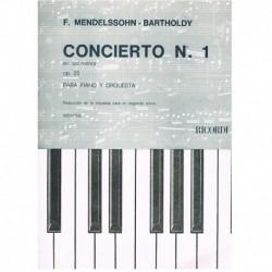 Mendelssohn, Concierto Nº1...