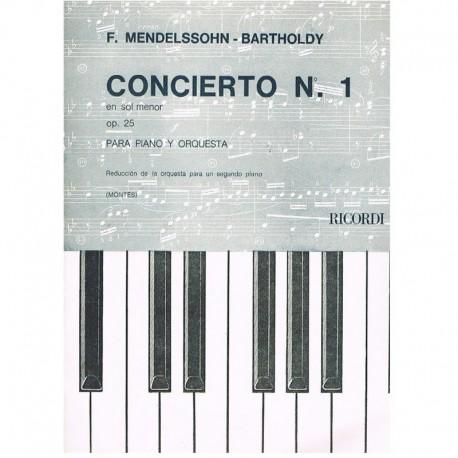 Mendelssohn, Concierto Nº1 Sol menor Op.25 (2 Pianos)
