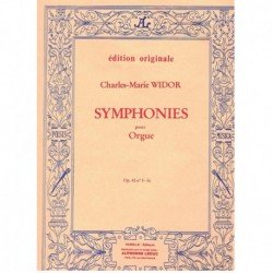 Widor, Charl Sinfonía Op.42...