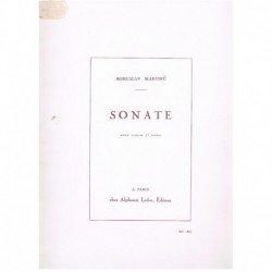 Martinu, Bohuslav. Sonata...