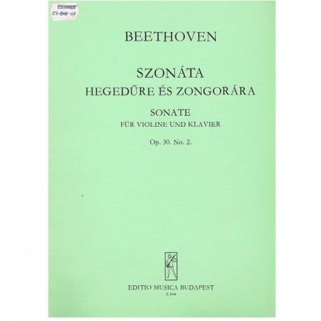 Beethoven. Sonata Op.30 Nº2 (Violín y Piano)