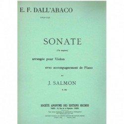 Dall'Abaco, Sonata en Fa...