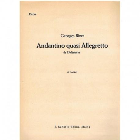 """Bizet, Georg Andantino Quasi Allegretto (de L'Arlesienne)"""""""