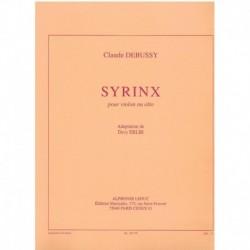 Debussy, Cla Syrinx (Violin y Piano)