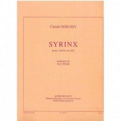 Debussy, Cla Syrinx (Violin...