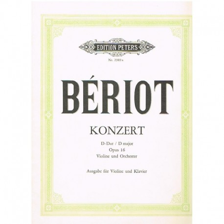 Bériot Concierto Re Mayor Op.16 (Violin y Piano)