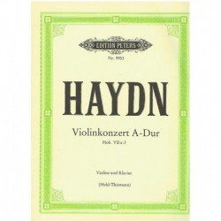 Haydn, Josep Concierto en La Mayor Hob.VIIa:3 (Rev. Held/Thiemann)