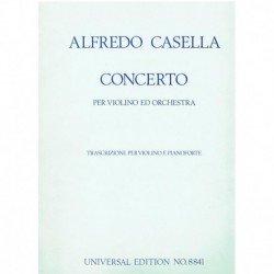 Casella, Alf Concierto La...