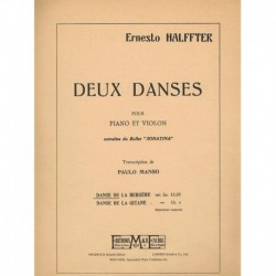 Halffter, Er Deux Danses (Violin y Piano)