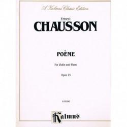 Chausson, Er Poema Op.25...