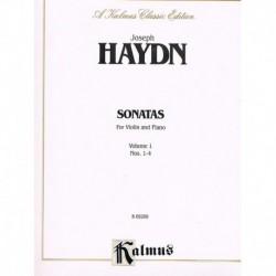 Haydn, Josep Sonatas para Violin y Piano Vol.1 (1-4)