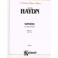 Haydn. Sonatas para Violin...
