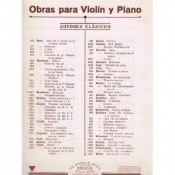Siciliana (Violin y Piano)