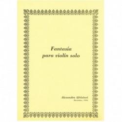 Afrasinei, A Fantasía para Violin Solo