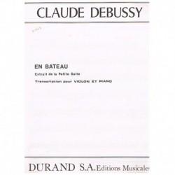 """Debussy, Cla En Bateau (de la Petite Suite) (Violin y Piano)"""""""""""
