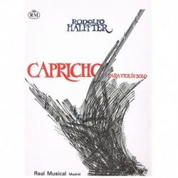 Halffter. Capricho para Violin Solo