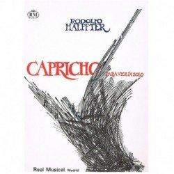 Halffter, Er Capricho para Violin Solo