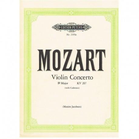 Mozart. Concierto Sib Mayor KV207 (Rev. Jacobsen) (Violin y Piano)