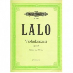 Lalo. Concierto Op.20 (Rev. Errmann) (Violin y Piano)